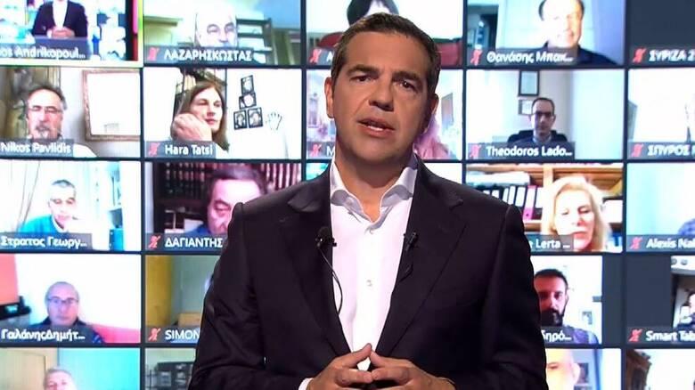 Τσίπρας: Η παρουσίαση του προγράμματος του ΣΥΡΙΖΑ για τη βιώσιμη επανεκκίνηση της Οικονομίας