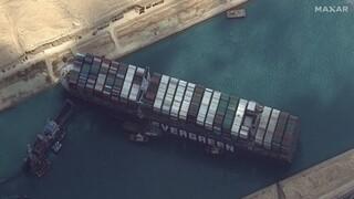 Διώρυγα του Σουέζ: Αποζημίωση πάνω από 900 εκατ. δολάρια ζητά η Αίγυπτος από το Ever Given