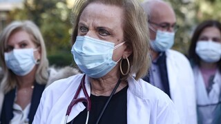 Παγώνη στο CNN Greece: Μπορεί να δούμε 1.000 ασθενείς σε ΜΕΘ - «Όχι» Πάσχα στο χωριό