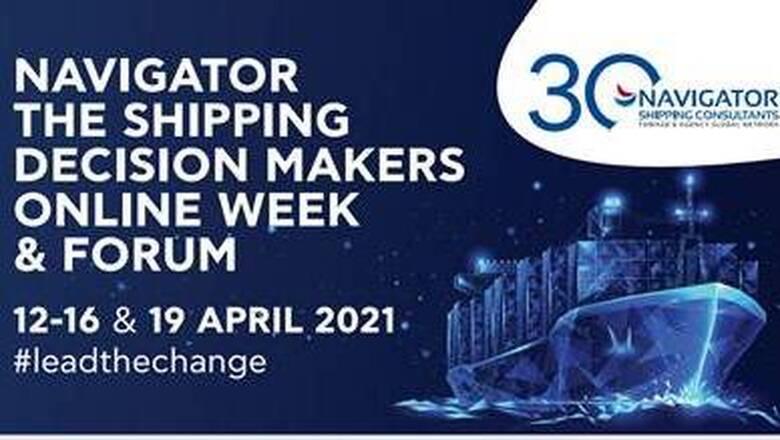 Στις 19 Απριλίου το συνέδριο «NAVIGATOR – The Shipping Decision Makers Forum»