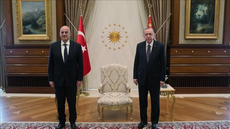 Νίκος Δένδιας: Στην Αγκυρα ο υπουργός Εξωτερικών- Συνάντηση με τον Ερντογάν