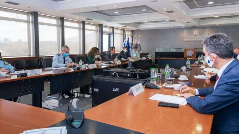 Συνάντηση του Λευτέρη Οικονόμου με τον διευθυντή τουΟργανισμού Θεμελιωδών Δικαιωμάτων