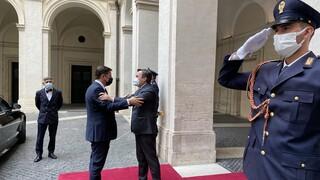 Βαρβιτσιώτης στη Ρώμη: Ελλάδα και Ιταλία θέλουν περιβάλλον ασφάλειας στη Μεσόγειο