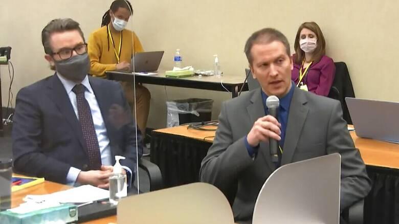 Τζορτζ Φλόιντ: Δεν κατέθεσε ο Ντέρεκ Σόβιν στη δίκη του - Ολοκληρώθηκαν οι καταθέσεις μαρτύρων