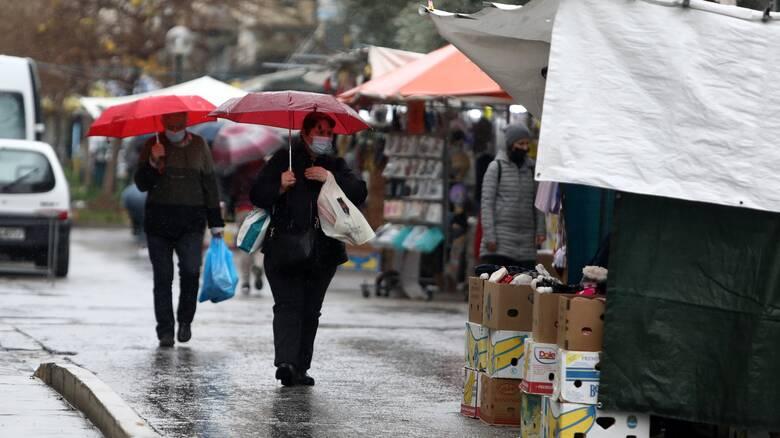 Καιρός: Βροχές, καταιγίδες και σκόνη προβλέπονται για σήμερα