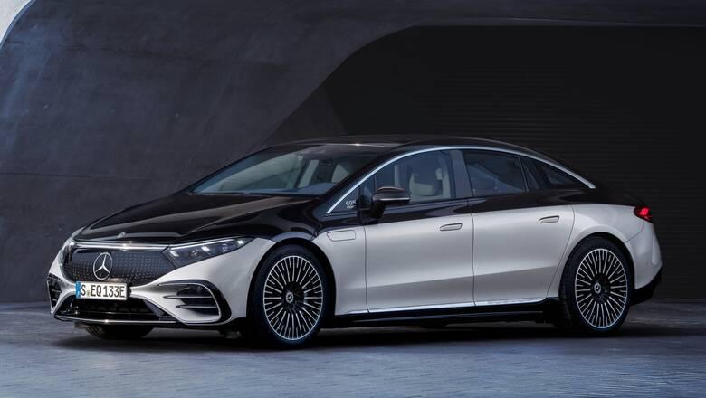 Αυτοκίνητο: Με την EQS η Mercedes παρουσίασε την πρώτη ηλεκτρική, πολυτελή λιμουζίνα της