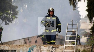 Φωτιά σε κτήριο στο Άλσος Καισαριανής