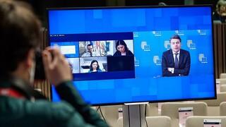 Σταϊκούρας στο Eurogroup: Αρνητικές οι καθυστερήσεις στην ενεργοποίηση του Ταμείου Ανάκαμψης
