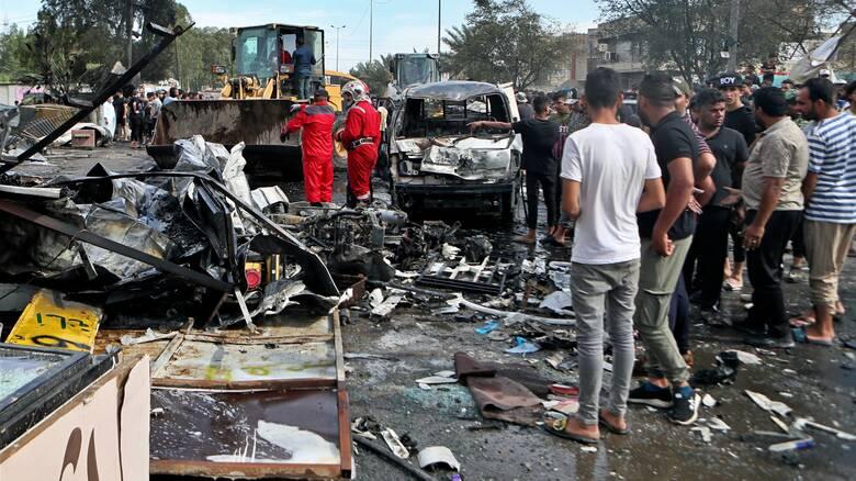Ιράκ: Το Ισλαμικό Κράτος πίσω από την αιματηρή έκρηξη στη Βαγδάτη
