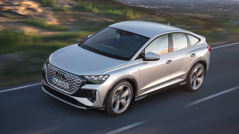 Με τα Q4 και Q4 Sportback e-tron η Audi εισέρχεται στην κατηγορία των μεσαίων ηλεκτρικών SUV
