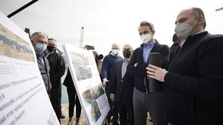 Μητσοτάκης: Έργα ύψους 9 εκατ. ευρώ για τον εκσυγχρονισμό της διώρυγας Κορίνθου