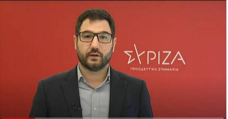 Ηλιόπουλος: Η κυβέρνηση της ΝΔ είναι επικίνδυνη για τη ζωή και το μέλλον των πολιτών