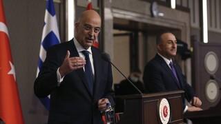 Νίκος Δένδιας: Να μην κρύψουμε τις ελληνοτουρκικές διαφορές κάτω από το χαλί