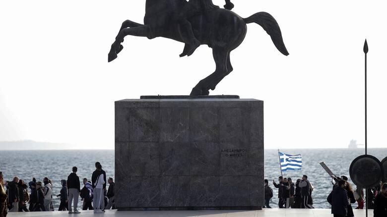 Συγκέντρωση διαμαρτυρίας κατά των self test και των εμβολίων στη Θεσσαλονίκη