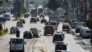 Lockdown: Αυξημένη κατά 34,3% η κίνηση στους δρόμους τα δύο τελευταία Σαββατοκύριακα