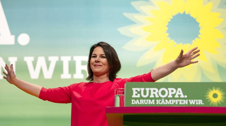 Γερμανία: Η Αναλένα Μπέρμποκ υποψήφια καγκελάριος των Πρασίνων