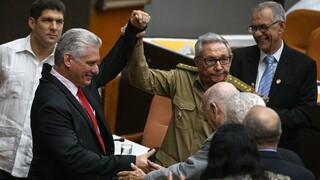 Κούβα: Τέλος εποχής για τους Κάστρο - Ο πρόεδρος Μιγκέλ Ντίας-Κανέλ νέος γραμματέας του Κόμματος