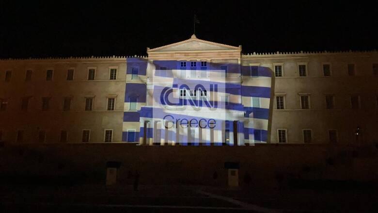 Υπερθέαμα στο κτήριο της Βουλής: «Ζωντάνεψε» η Ελληνική Επανάσταση - Εντυπωσιακές εικόνες