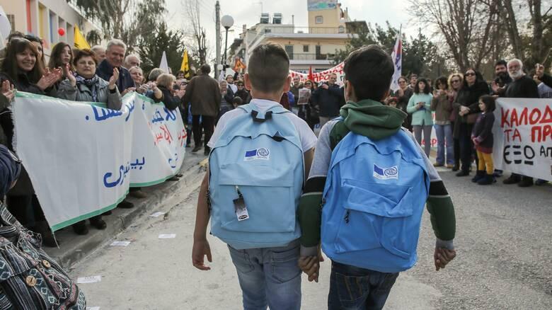 Απογοητευτικά στοιχεία για τα προσφυγόπουλα: Μόνο το 14,2% φοιτά στα ελληνικά σχολεία