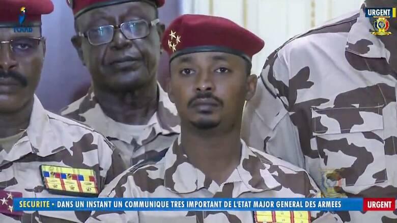 Τσαντ: Στον γιο η εξουσία μετά τον θανάσιμο τραυματισμό του πατέρα από τους αντάρτες