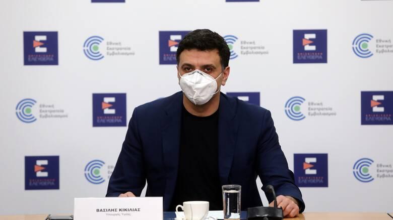 Κικίλιας: Ανοίγει η πλατφόρμα των ραντεβού για 30 - 39 ετών με AstraZeneca