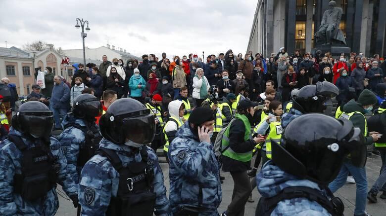Ρωσία: Περισσότερες από 1.000 συλλήψεις στις διαδηλώσεις υπέρ του Αλεξέι Ναβάλνι