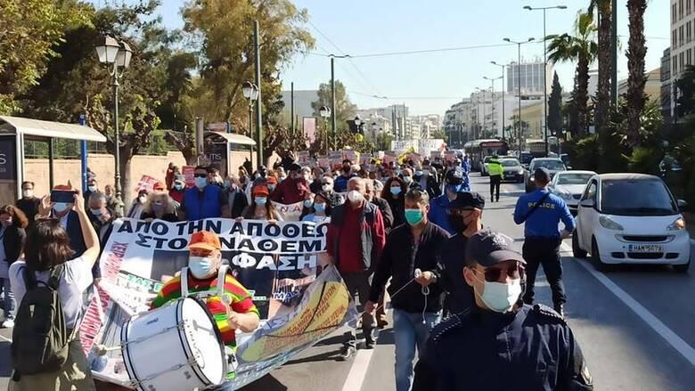 ΠΟΕΔΗΝ: Συγκέντρωση διαμαρτυρίας και πορεία προς το υπουργείο Υγείας