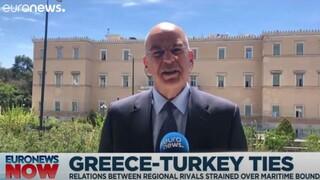 Δένδιας: Η Τουρκία πρέπει να αποδεχθεί το Διεθνές Δίκαιο για να προχωρήσουμε