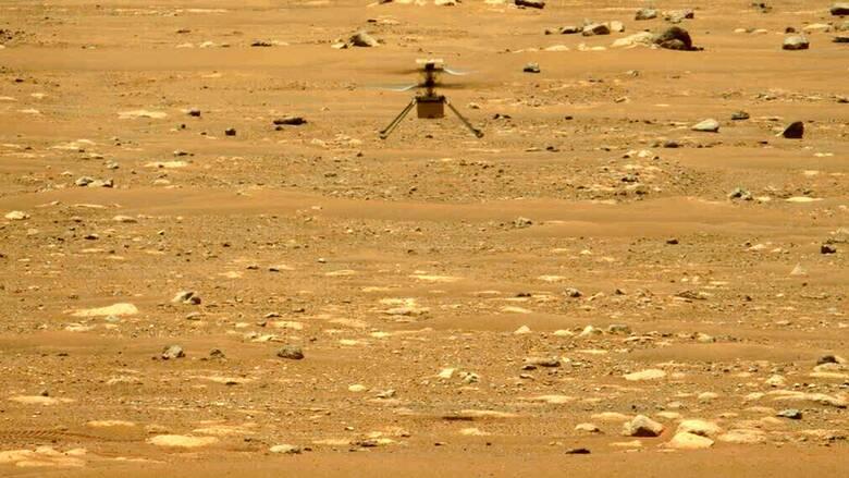 Δεύτερη πτήση στον πλανήτη Άρη για το ελικόπτερο Ingenuity