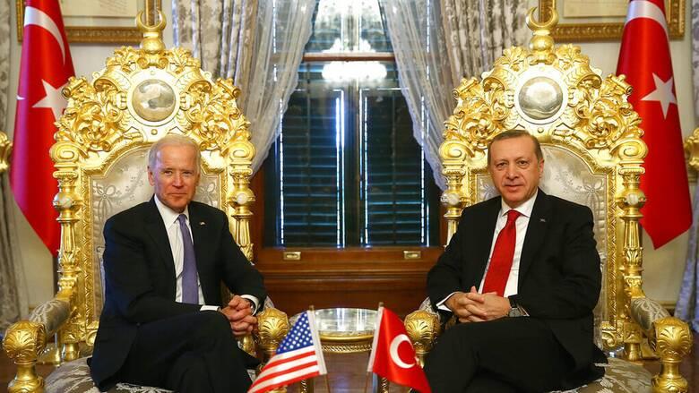 Τηλεφωνική επικοινωνία Μπάιντεν - Ερντογάν στη σκιά της Γενοκτονίας των Αρμενίων