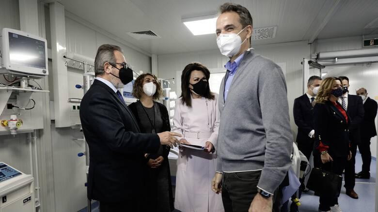 Μητσοτάκης: Οι πολίτες να σπεύσουν να εμβολιαστούν