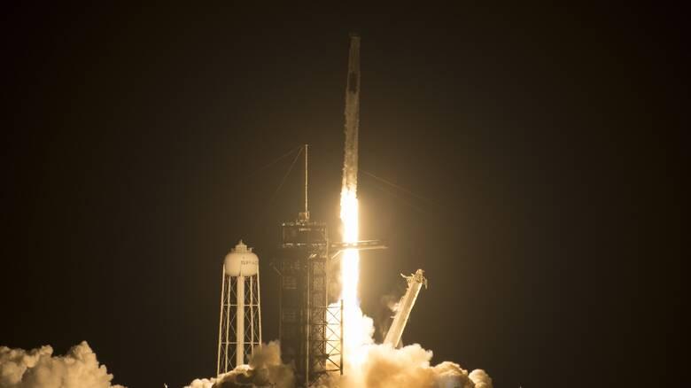 Ο πύραυλος SpaceX έφτασε στον Διεθνή Διαστημικό Σταθμό