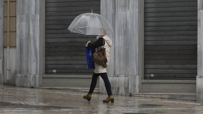 Καιρός: Βροχερό το σκηνικό και την Κυριακή - Αναλυτικά η πρόγνωση