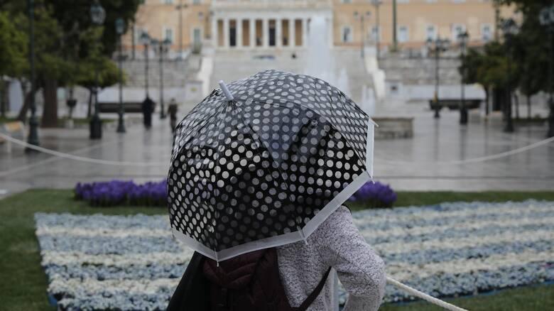 Καιρός: Βροχερό το σκηνικό και σήμερα - Αναλυτικά η πρόγνωση