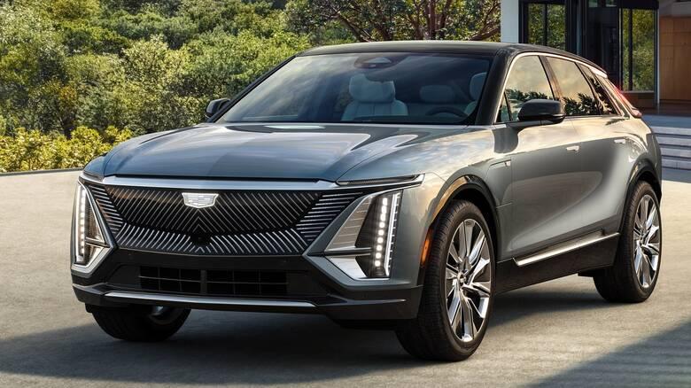 Η εντυπωσιακή Lyriq είναι η πρώτη ηλεκτρική Cadillac