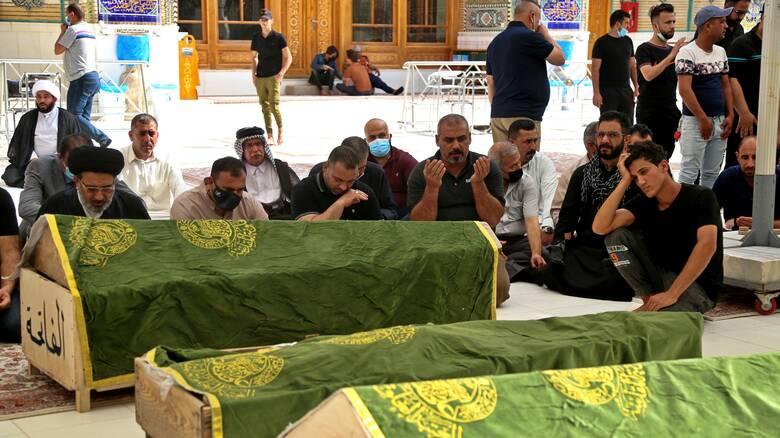 Τραγωδία στο Ιράκ: Εκτός κυβέρνησης ο υπουργός Υγείας - Οι ΗΠΑ προσφέρουν βοήθεια