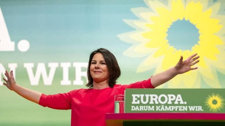 Γερμανία: Πρώτο κόμμα οι Πράσινοι σε νέα δημοσκόπηση