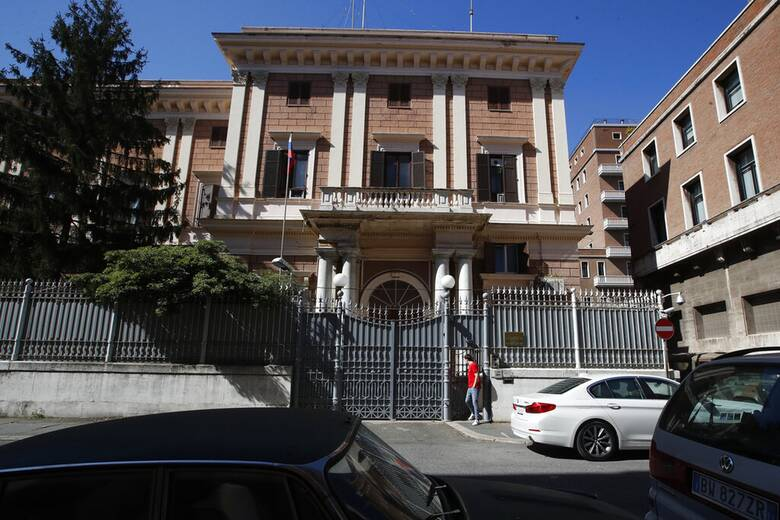 Κατασκοπεία στη Ρώμη: Ρωσικά «αντίποινα» με τη απέλαση Ιταλού διπλωμάτη