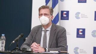Κορωνοϊός - Σκέρτσος: Η Ελλάδα είναι στον ευρωπαϊκό μέσο όρο των εμβολιασμών