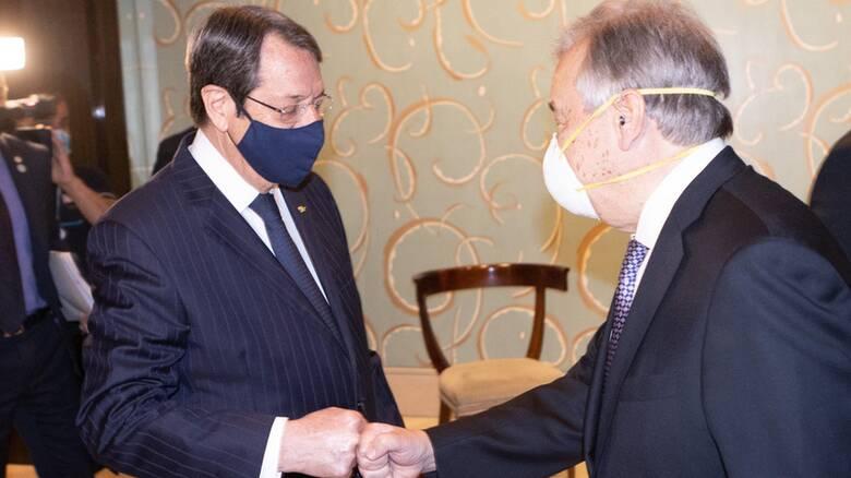 Γενεύη: Πυρετός διαβουλεύσεων στην Άτυπη Πενταμερή για το Κυπριακό
