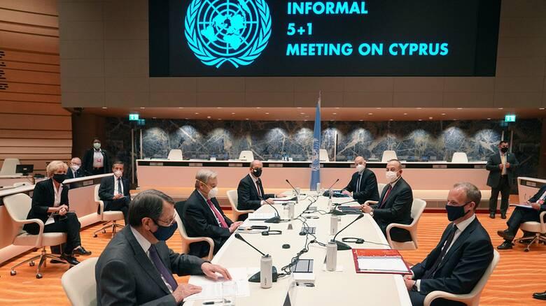 Πενταμερής για Κυπριακό: Συνομιλίες σε «βαθιά νερά» χωρίς κοινή κατεύθυνση
