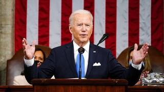 Μπάιντεν: Χαιρέτισε μια Αμερική που ξαναβρίσκει τον δρόμο της