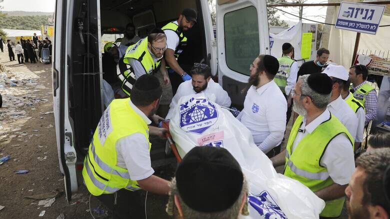 «Συνέβη σε ένα δευτερόλεπτο»: Θρήνος στο Ισραήλ μετά το ποδοπάτημα σε θρησκευτική γιορτή