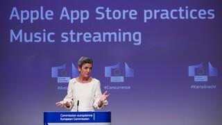 EE εναντίον Apple για τους κανόνες υγιούς ανταγωνισμού μετά από καταγγελία της Spotify