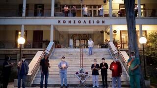 Επιτάφιος στο Γηροκομείο Αθηνών: Aπώλεια και θρήνος λίγο πριν την Ανάσταση