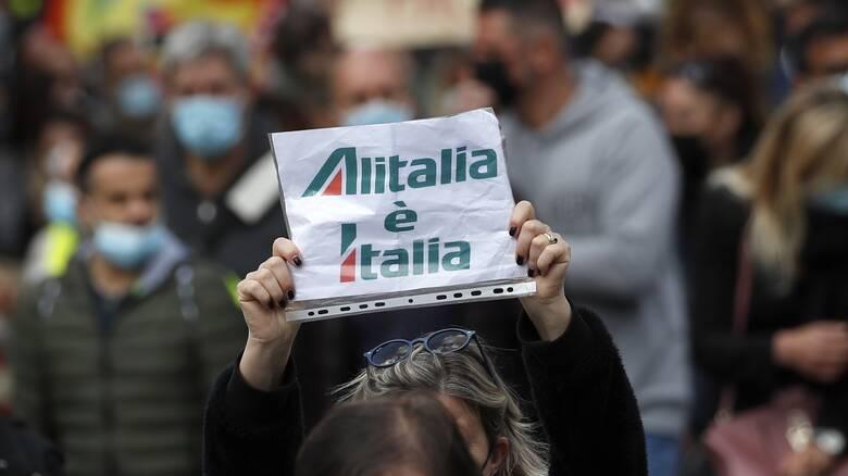 Alitalia: Στην ίδρυση νέας αεροπορικής εταιρίας προσανατολίζονται οι Βρυξέλλες