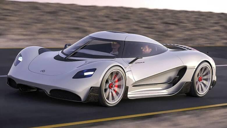 Αυτοκίνητο: To hypercar Viritech Apricale θα χρησιμοποιεί ως καύσιμο το υδρογόνο