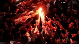 Στα Ιεροσόλυμα ο Κώστας Βλάσης για την Τελετή Αφής του Αγίου Φωτός