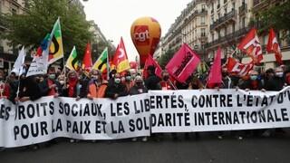 Γαλλία: Διαδηλώσεις για την Πρωτομαγιά στο Παρίσι και άλλες πόλεις
