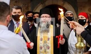 Πάσχα 2021: Στο Μετόχι του Παναγίου Τάφου το Άγιο Φως - Θα μεταφερθεί σε όλη την Ελλάδα